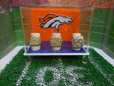 Denver Broncos Championship Ring Display Case (case only)