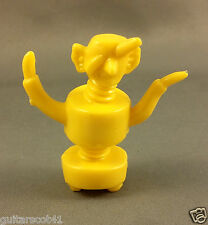 1 Yellow Crazy Bolt Monster from New Hing Fat MONSTERS Individual Plastic Figure