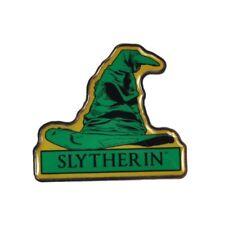 Genuine Warner Bros Harry Potter Slytherin Sorting Hat Hogwarts House Pin Badge