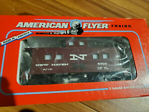 American Flyer-S New Haven Caboose 6-48707