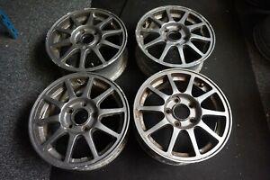 Honda Integra Type R DC2 UKDM EDM Original 15x6 Alloy Wheels