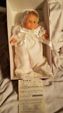 Anatomically Correct Baby Doll Girl Berjusa 18in Vinyl Doll Outfit brown eyes