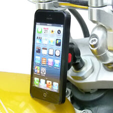 Universal Motorcycle Stem Mount and TiGRA Fitclic Case for iPhone SE