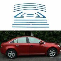 Full Windows Molding Trim Decoration Strips For Chevrolet Cruze 2010-2014
