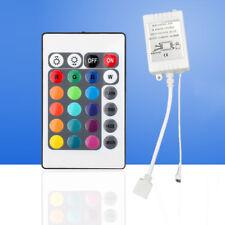 24-Taste LED RGB Strip IR Remote Controller Fernbedienung Kontroller Steuerung#