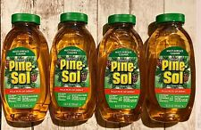 4 Bottles Pine-Sol Multi-Surface Disinfectant Cleaner Kills 99.9% Germs 9.5 OZ