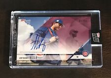 2018 TOPPS NOW #OD-306C ANTHONY RIZZO ROAD TO OPENING DAY AUTO # 21/25