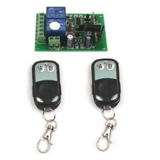 DC 12V 2 Channel Wireless Remote Control Momentary Switch 2 Transmitter+Receiver