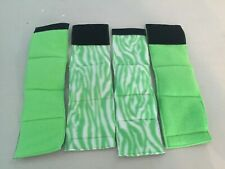4-MALE DOG BELLY BANDS NO INSERTS LEAK PROOF  GREENS