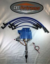AMC JEEP 4.2L 258 232 6 CYL HEI DISTRIBUTOR BLUE + 8MM PLUG WIRES