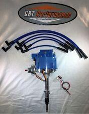 AMC JEEP INLINE 6 4.2L 258 6 CYL HEI DISTRIBUTOR BLUE + 8MM PLUG WIRES - USA