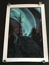 DAN MCCARTHY - Halycon Days RARE eight colour SIGNED art print GLOWS IN THE DARK