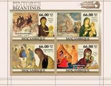 MOZAMBIQUE-Byzantine, buonisegna, Tzanes - 4 Stamp Sheet -
