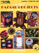 Our Best Bazaar Projects ~ 55 Projects plastic canvas pattern book NEW