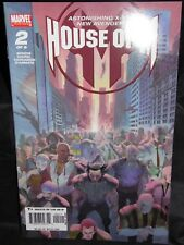 House of M #2 2x signed Bendis and Coipel