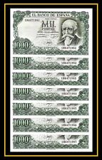 XF CONDITION SPAIN 1000 PESETAS 1971  P 154 3RW 23 ABRIL