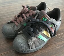 Adidas Hemp Green Yellow Red Shoes Mens Size 6 1/2
