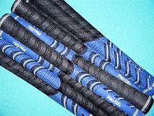 "13 Avon Pro D2x Midsize 1/16"" Oversize Blue/Black MULTI COMPOUND Golf Club Grip"