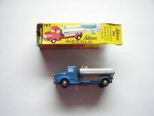 Schuco PICCOLO Nr. 763 Wasserwagen blau/silber