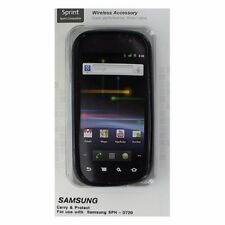 Sprint Ventev Soft Gel Case for Samsung Nexus S (SPH-D720) - Gloss Black