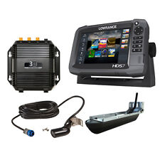 Lowrance HDS-7 Gen3 with 83/200 Transom Mount and Structurescan 3D Module and Tr