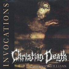 Christian Death Invocations: 1981-1989 (CD, May-1993, Cleopatra)