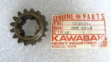 Kawasaki NOS NEW  13130-024 Drive Shaft 2nd Gear F6 F7 KD KE KD175 KE175 1971-79