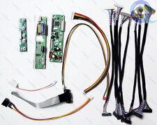 LCD Screen Testing Kit - Controller Board(Jumper Solution) LVDS Cables Inverter