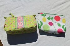 Clinique Cosmetic Makeup Bag and MaggiB Cosmetic Makeup Bag