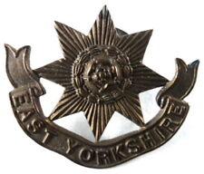 East Yorkshire Regiment Brass Lapel Badge
