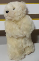 SEA WORLD GOLD COAST POLAR BEAR PLUSH TOY! SOFT TOY ABOUT 19CM TALL KIDS TOY!