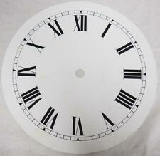 Antique White Metal Mantel clock Dial Clock Spare Wall Clock Art Deco Dial 18cm