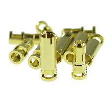 Goldstecker Goldsteckverbinder 5 Paar x 4mm Rcproplus Supra geschlitzt Modellbau
