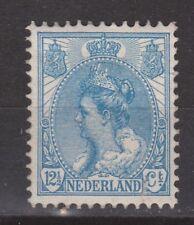 NVPH Netherlands Nederland 63 MLH Wilhelmina bontkraag 1899-1921 Pays Bas NO GUM