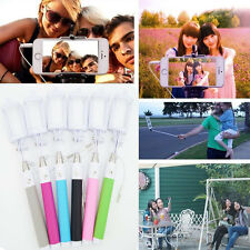 Handheld Bluetooth Wired Remote Selfie Stick Monopod Extendable for Smartphones