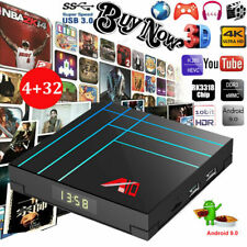A9 Smart Android 9.0 TV Box 4 Go / 32 Go RK3318 Quad Core 64 bits 4K HD Streamer