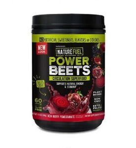 Nu-Therapy Power Beets Super Concentrated Circulation Superfood Dietary Suppl...