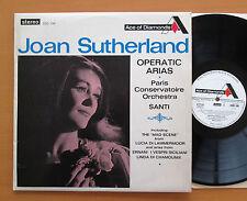 SDD 146 Joan Sutherland Operatic Arias Nello Santi 1966 Decca Stereo EXCELLENT