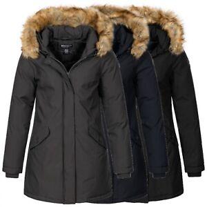 Geographical Norway Damen Winter Jacke warme Winterjacke Mantel Parka D-451 NEU