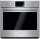 Bosch HBL5451UC 500 Series 30 Inch Single Electric Wall Oven Stainless Steel photo