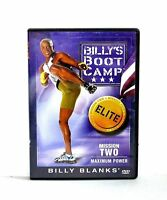 Billy's Boot Camp : Elite - Mission Two - Maximum Power ( dvd )