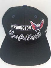 New Washington Capitals Mens Size OSFA Flatbrim Snapback Reebok Hat $24