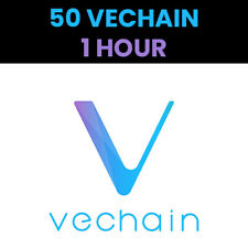 FAST - 50 VeChain (VET) Crypto Mining Contract - 1 HOUR