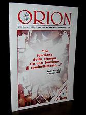 C108_Rivista mensile ORION di politica,cultura e informazione N.5 2004
