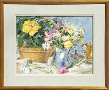 """Kim Mackey """"A Profusion of Oil"""" Hand Signed Original Oil Painting, floral, OBO!"""