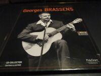"""CD-LIVRE """"LES GEANTS DE LA CHANSON : GEORGES BRASSENS"""""""
