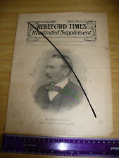 More details for newspaper - hereford times illustrated supplement - march 11th 1905.