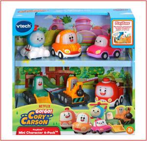 vTech GO! GO! Cory Carson 6 Pack Mini Character Car Vehicles - Halle Kimmy Timmy