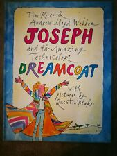 Joseph & The Amazing Technical Dreamcoat book Quentin Blake Illustrations