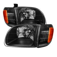 Toyota 00-04 Tundra Regular / Access Cab Black Housing Replacement Headlights